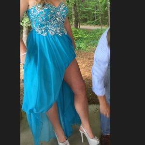 Dresses & Skirts - BUNDLE SALE : PROM DRESS, HEELS, JEWELERY!!